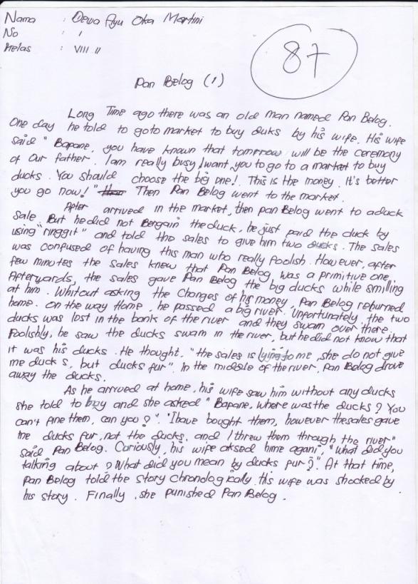 narrative text legend terbaik 2014 terbaru 2014 contoh narrative text